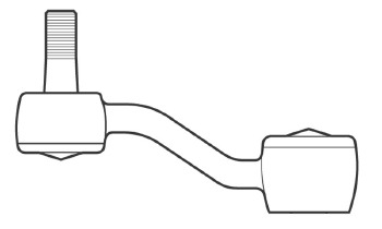 Braço Pitman - Nakata - N 99118 - Unitário - - TOYOTA HILUX CABINE DUPLA 91 - 01 - Lado Esquerdo - Posição Dianteira - Conteúdo Unitário