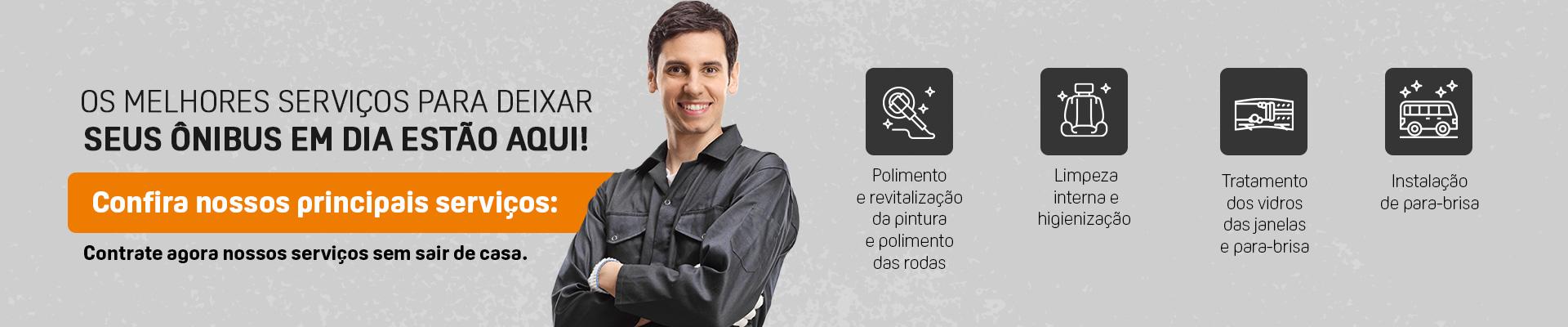 Conheça os serviços disponíveis na Marcopolo Parts!