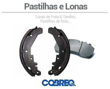 Conheça a categoria de Pastilhas e Lonas - Cobreq no Canal da Peça!