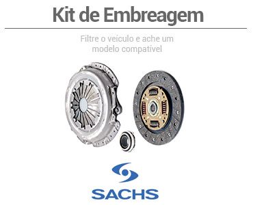 Kit de embreagem - Sachs
