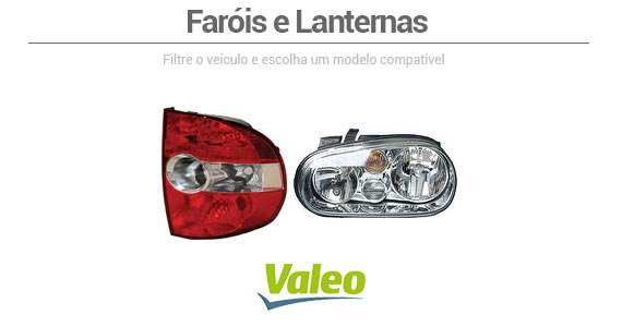 Farois e Lanternas Valeo