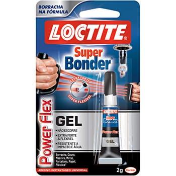 Adesivo Instantâneo Super Bonder Flex Gel 2g 1846467 - Loctite - 1846467 - Unitário