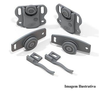 Sistema de Porta de Correr RO 212210 para 1 Porta 30Kg