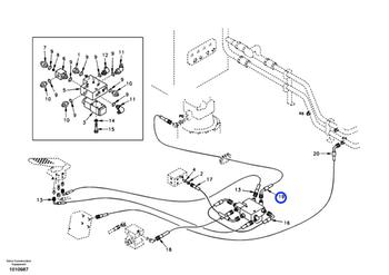 Mangueira Completa - Volvo CE - 9453-02233 - Unitário