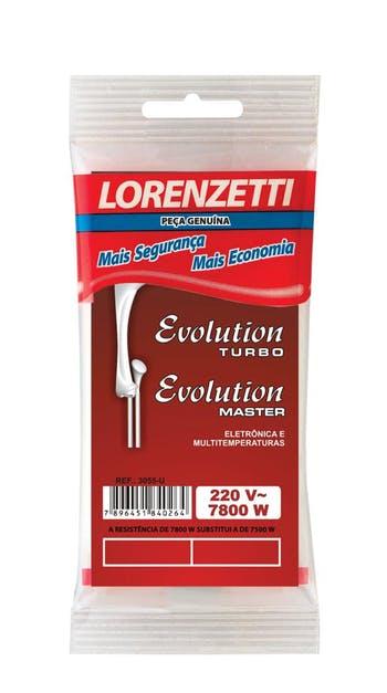 Resistência para Chuveiro Evolution 3055-U 220V 7800W - Lorenzetti - 7589063 - Unitário