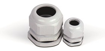 """Conector Prensa Cabo PVC 1"""" 18,0-25,0mm S-854 - Longo - Steck - S-854/L - Unitário"""