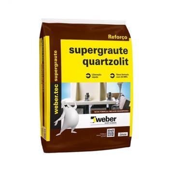 Argamassa de Alta Resistencia Supergraute 25kg - Quartzolit - 0043.00001.0025PA - Unitário