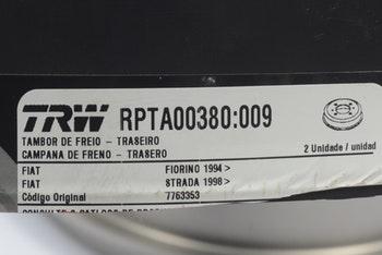 Tambor de Freio - TRW - RPTA00380 - Par