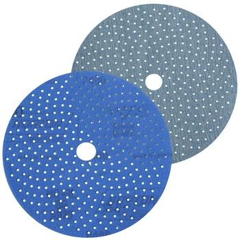 Disco de lixa Cyclonic A975 grão 500 152mm c/ x furos - Norton - 66261115881 - Unitário