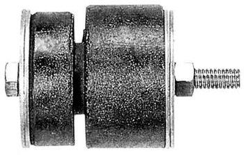 Coxim Dianteiro da Cabine - BORFLEX - 121 - Unitário
