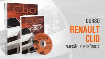 Curso - Injeção Eletrônica - Renault Clio - Módulo 29 - VIDEOCARRO - 11.10.01.224 - Unitário