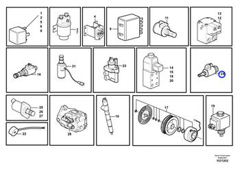 Regulador de Pressão - Volvo CE - 11709879 - Unitário