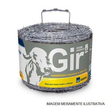 Arame Farpado Gir 1,6mm x 250m - Gerdau - 111001231 - Unitário