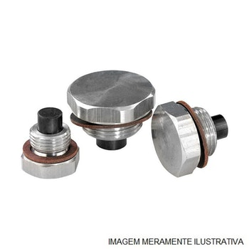 Bujão Magnético da Carcaça da Transmissão - Eaton - 226858 - Unitário