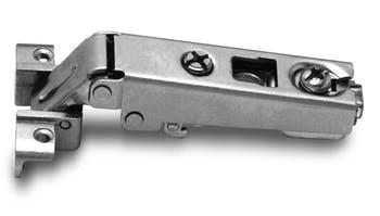 Dobradiça Slide-On MS41 Reta para Alumínio 105° FGVTN