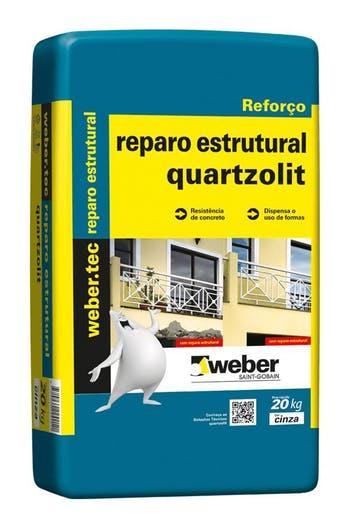 Reparo Estrutural Cinza 20kg - Quartzolit - 0064.00001.0020PA - Unitário