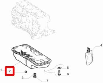 Bujão do Câmbio - Original Fiat - 14325311 - Unitário