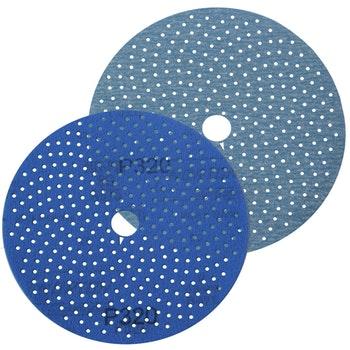 Disco de lixa Cyclonic A975 grão 320 152mm c/ x furos - Norton - 66261115879 - Unitário