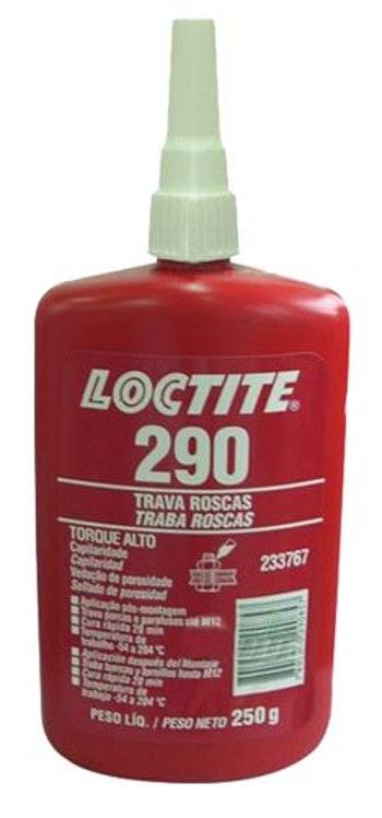 Adesivo Anaeróbico Trava Rosca 290 250g - Loctite - 233767 - Unitário