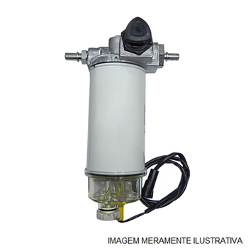 Filtro de Combustível com Separador de Água - Fleetguard - FS1251 - Unitário