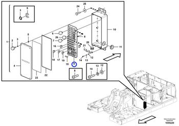 Circuito Impresso - Volvo CE - 14604587 - Unitário