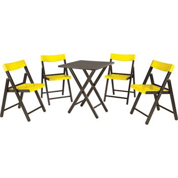 Conjunto de Cadeiras e Mesa Potenza - Tramontina - 10630045 - Unitário