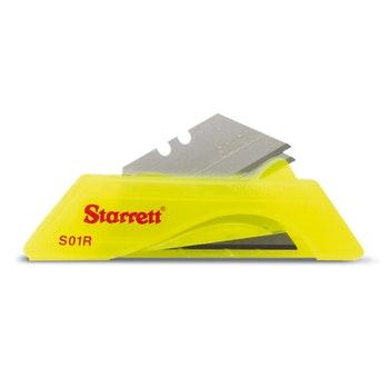 Lâminas de Reposição para Estiletes com furo central - Starrett - KS01R-SP - Unitário