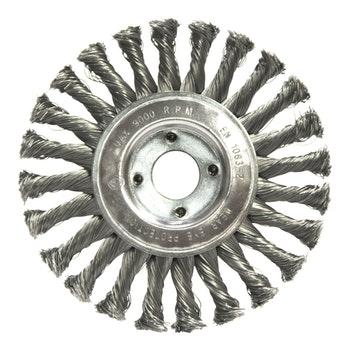 Escova Circular Trançada Aço Temperado Ø 152,4mm - Norton - 69957307746 - Unitário