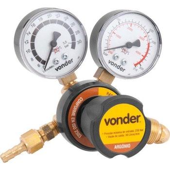 Regulador de Pressão Argônio, RAR 30 - Vonder - 74.86.030.003 - Unitário