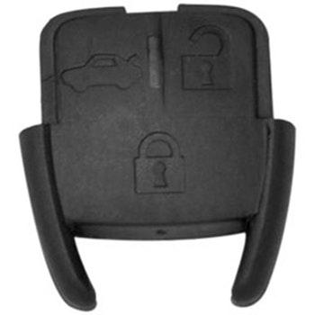 Capa do Telecomando 3 botões - Universal - 40953 - Unitário