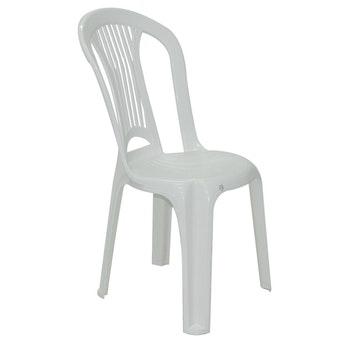 Cadeira sem Braços em Polipropileno Branco Tramontina Atlântida Basic Economy - Tramontina - 92013010 - Unitário