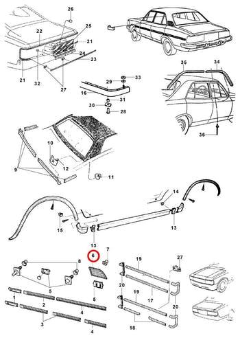 Grade Lateral Fixa - Original Chevrolet - 94643676 - Unitário