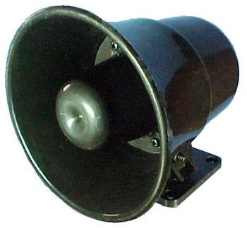 Sirene Eletrônica 120dB - 12V - DNI - 3300 - Unitário