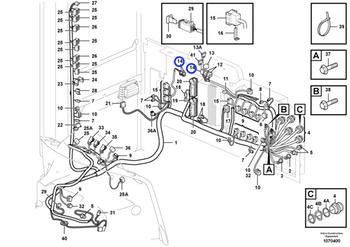 Porta Fusíveis - Volvo CE - 3986188 - Unitário