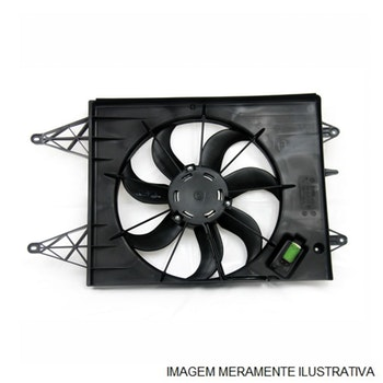 Hélice do Radiador - Serpa Globo - SE00320 - Unitário
