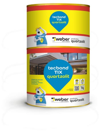 Tecbond TIX 1kg - Quartzolit - 31824.99.33.043 - Unitário