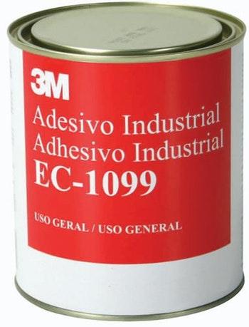 Adesivo Plástico Nitrilo1099 de Alta Performance - 3M - H0000499634 - Unitário