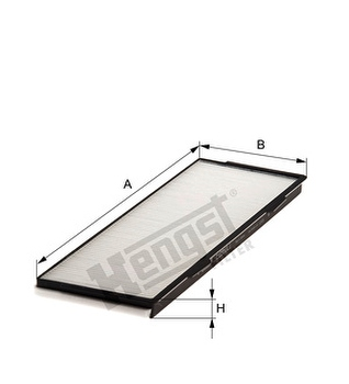 Filtro do Ar Condicionado - Hengst - E2960LI - Unitário