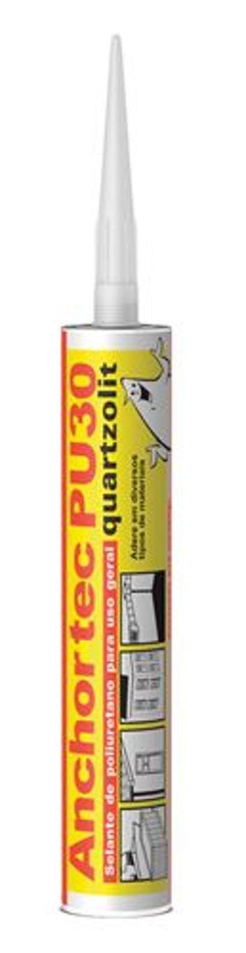 Anchortec PU30 Selante Poliuretano Cinza 310ml - Quartzolit - 31047.31.32.031 - Unitário