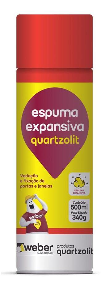 Espuma Expansiva 500ml - Quartzolit - 31145.31.32.039 - Unitário