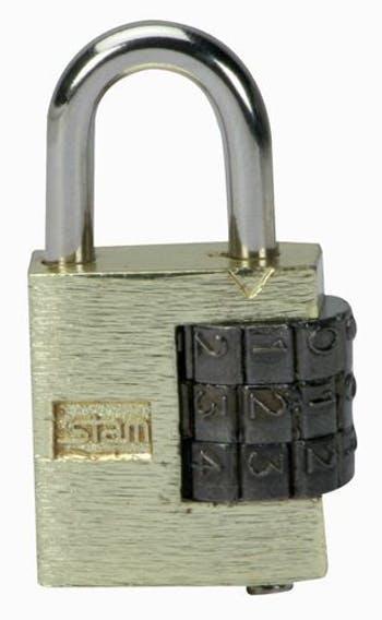 Cadeado de Segredo Numerado 25 mm - Stam - 8003769 - Unitário