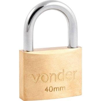 Cadeado de Latão 40 mm - Vonder - 32.11.040.000 - Unitário