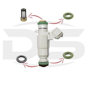 Kit de Filtros para Bico Injetor - DS Tecnologia Automotiva - 1259 - Unitário