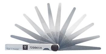 Calibradores de folga - SKF - 729865 A - Unitário