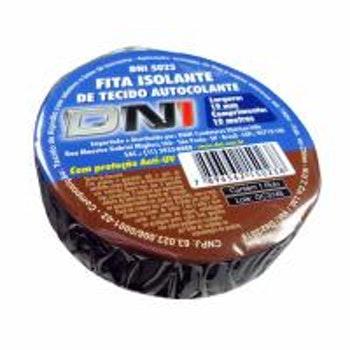 Fita de Tecido Isolante e Autocolante 10m - DNI 5023 - DNI - DNI 5023 - Unitário
