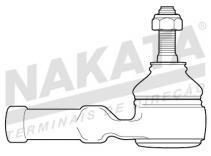 Terminal de Direção - Nakata - N 92017 - Unitário
