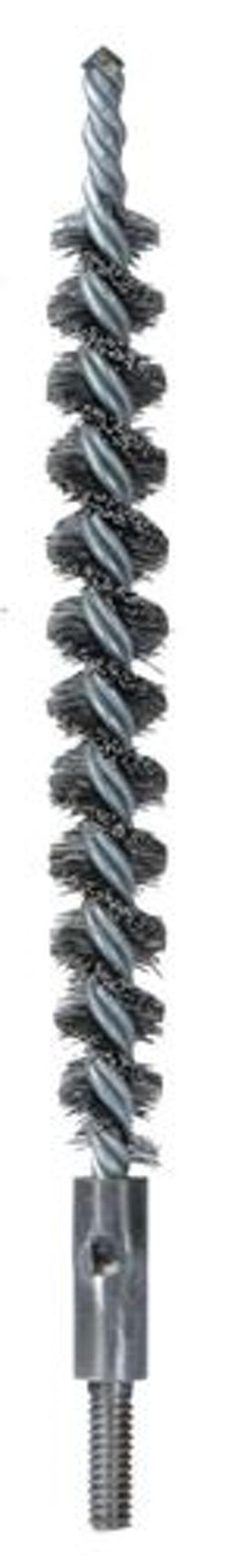 Escova Tubular Torcido Duplo 25mm com Fio 0,30mm - Abrasfer - T6000-25MM - Unitário