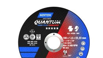 Disco de corte Quantum 180x1,6x22,23mm - Norton - 66252931357 - Unitário
