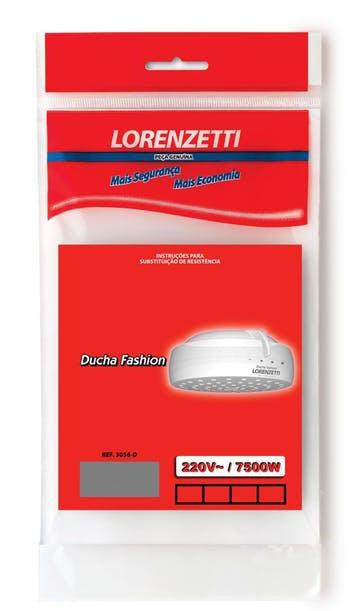 Resistência para Ducha Fashion 3056-D 220V 7500W - Lorenzetti - 7589070 - Unitário