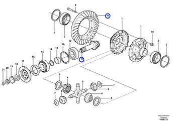 Jogo do Pinhão - Volvo CE - 17210933 - Unitário